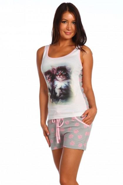 Пижама Два котёнка