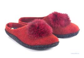 женские тапочки INBLU P2-6X красные
