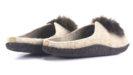 женские тапочки INBLU P2-6X песочные