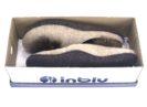 женские тапочки INBLU P2-6X песочные в коробке