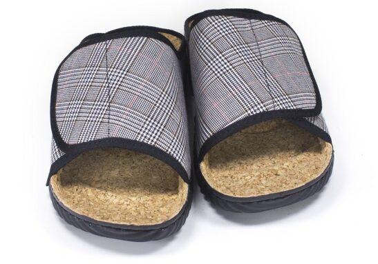 Тапочки INBLU FM-5Q серые ортопедические