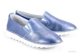 туфли женские EGO 7625-1K синие